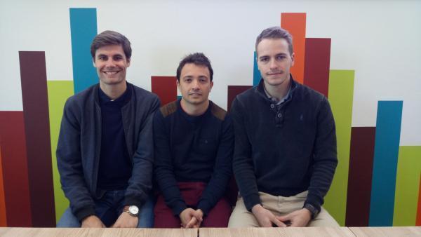 Thomas Bonnefoy, Franck Monod et Thibaut Marlien