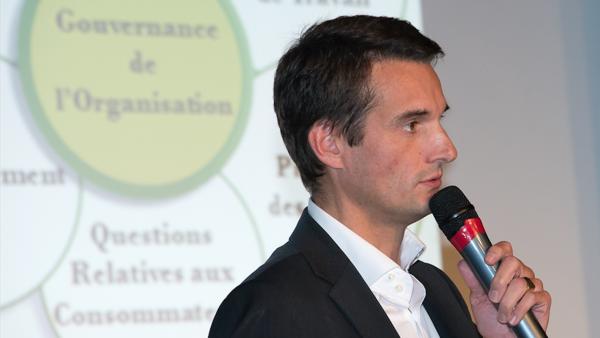 Régis Chomel de Varagnes dirige l'entreprise d'utilité sociale Mix-r.