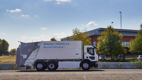 Renault Trucks D Wide Z.E, brefeco.com