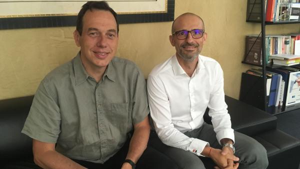 Rodolphe Pasquier-Desvignes et Gérald Ferraro - reseau entreprendre rhone