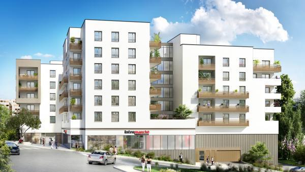 La résidence « Inoui » doit participer à la revitalisation d'un quartier en pleine transformation.