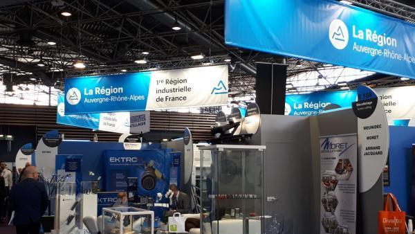 Forte présence des entreprises régionales sur le salon Global Industrie