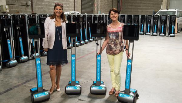 Awabot livre 57 robots à la Région Auvergne-Rhône-Alpes