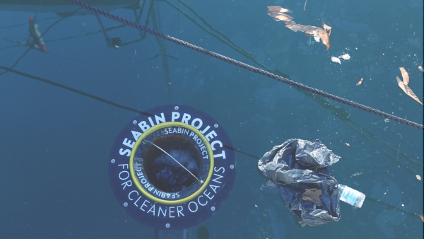 Poralu Marine et The Seabin project lancent un collecteur de déchets flottants
