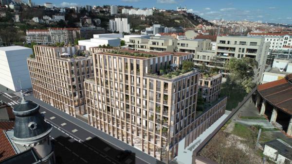 Rue Royale et Petitdidierprioux, lauréats de l'îlot ICF Habitat Sud-Est Méditerranée à Lyon Confluence