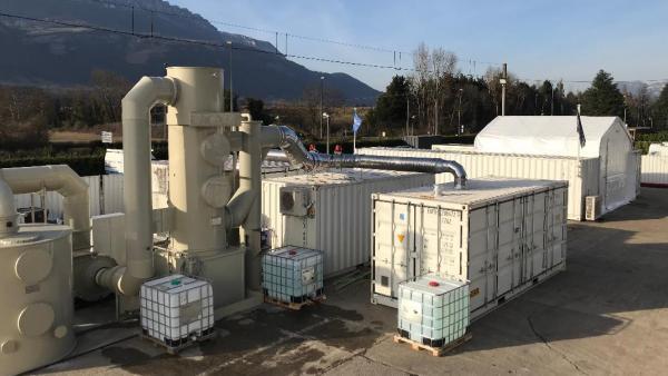 Nouveau site de tests de batteries pour Serma