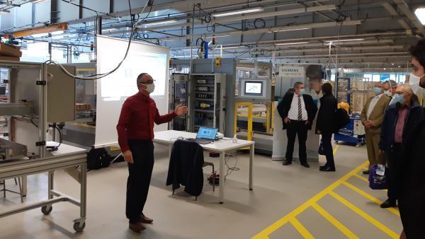 Siemens et le Greta créent un centre de formation pour l'industrie 4.0
