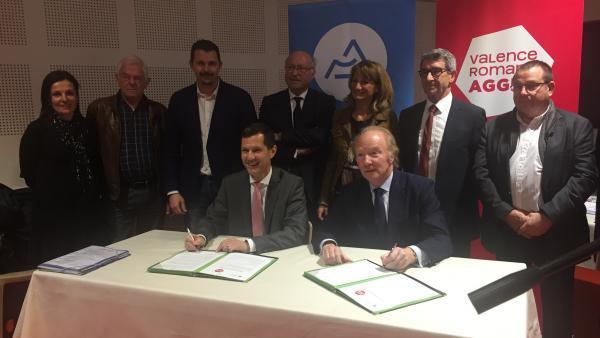 Valence Romans Agglo signe un Contrat Ambition Région