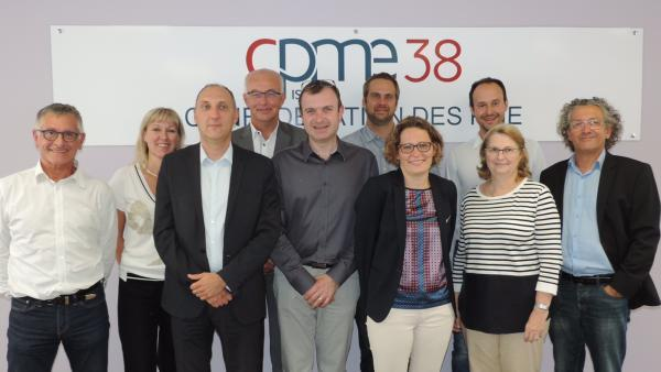 La CPME 38 et Caisse d'Epargne Rhône Alpes main dans la main