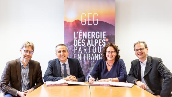 Gaz Electricité de Grenoble lève plus de 9M€ auprès de la Banque des Territoires