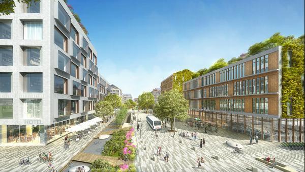 quartier de la gare de Saint-Julien-en-Genevois - bref eco