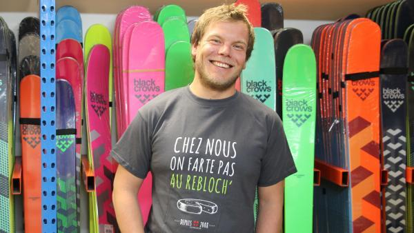 Thomas Rouault, cofondateur et dirigeant de Snowleader.