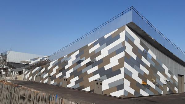 Soprema livre la façade du Parc des Expositions de Saint-Etienne