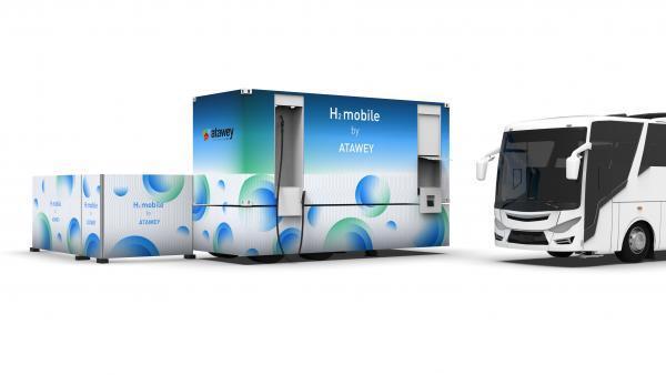 Atawey lance une station hydrogène mobile