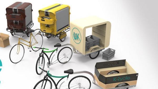 K-Ryole est une remorque électrique intelligente pour vélo.