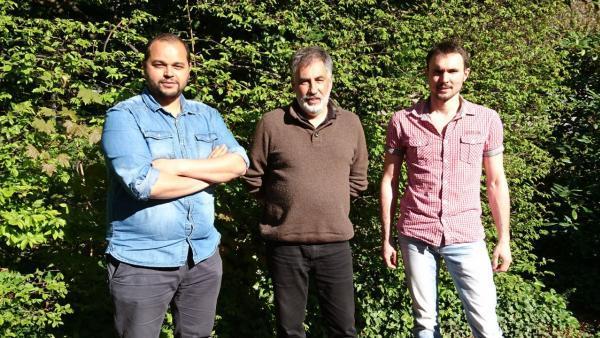 L'équipe de salariés-repreneurs du bureau d'études Intégrale.