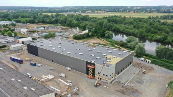 Nouvel entrepôt Transports Thévenet, brefeco.com