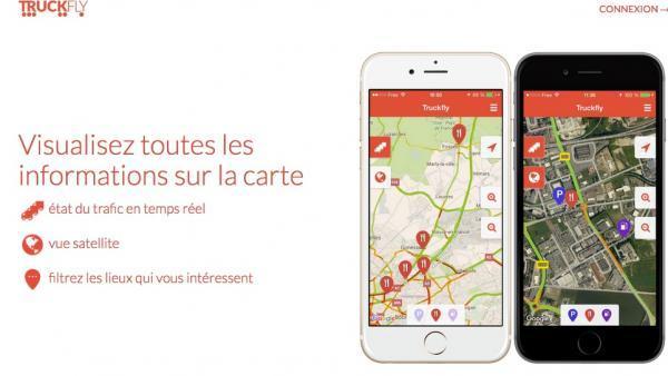 Michelin vise les 300 000 utilisateurs de l'application Trcukfly.