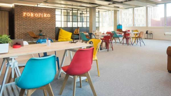 Rokoriko propose une salle de réunion ultra collaborative à Lyon Confluence.