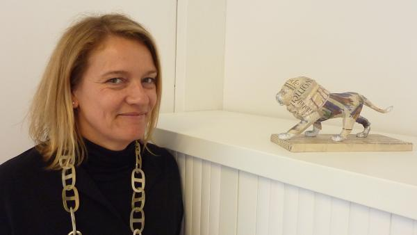 Valérie Ducaud, bureau des Congrès de l'Office du Tourisme de Lyon.