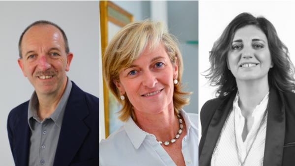 De gauche à droite : Jacques Follereauu – DRH de Groupama Rhône-Alpes Auvergne, Blandine Peillon – Dirigeante de Jours de Printemps et Présidente de la Fondation Émergences et Céline Laurichesse – Présidente de Pro Bono Lab