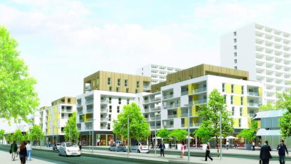 Requalification du centre-ville de Rillieux
