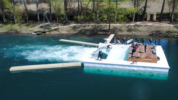 waveboat de Tencin en Isère, brefeco.com