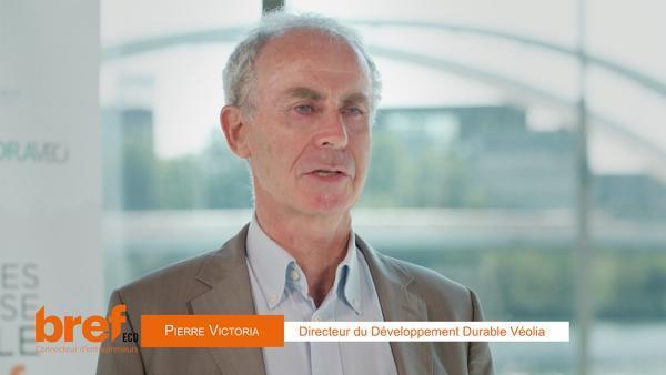Pierre Victoria, directeur développement durable de Véolia.