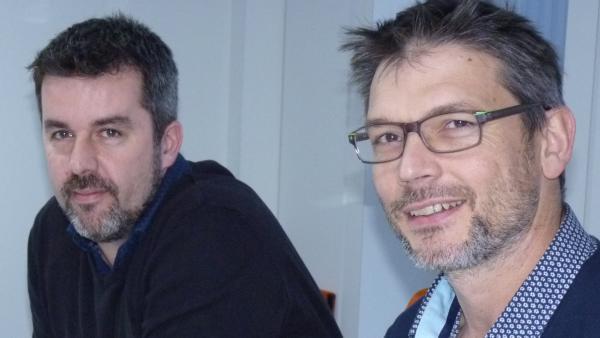 Florian Arot et Alexis Brunet